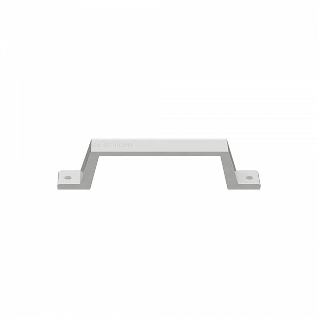 ALUMINIUM HANDLE WITH EXTERNAL SCREWS / WHITE